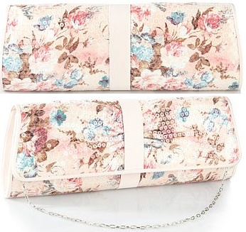 [Debut / Debenhams bag] Lovely little clutch bag, perfect for spring weddings (although possibly a little optimistic about the weather).