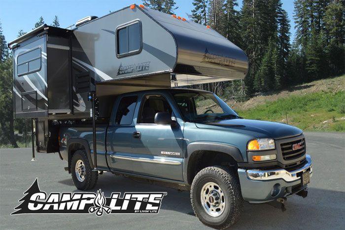 I want this ... camper love .....Camplite 8.6 Ultra Lightweight Truck Camper