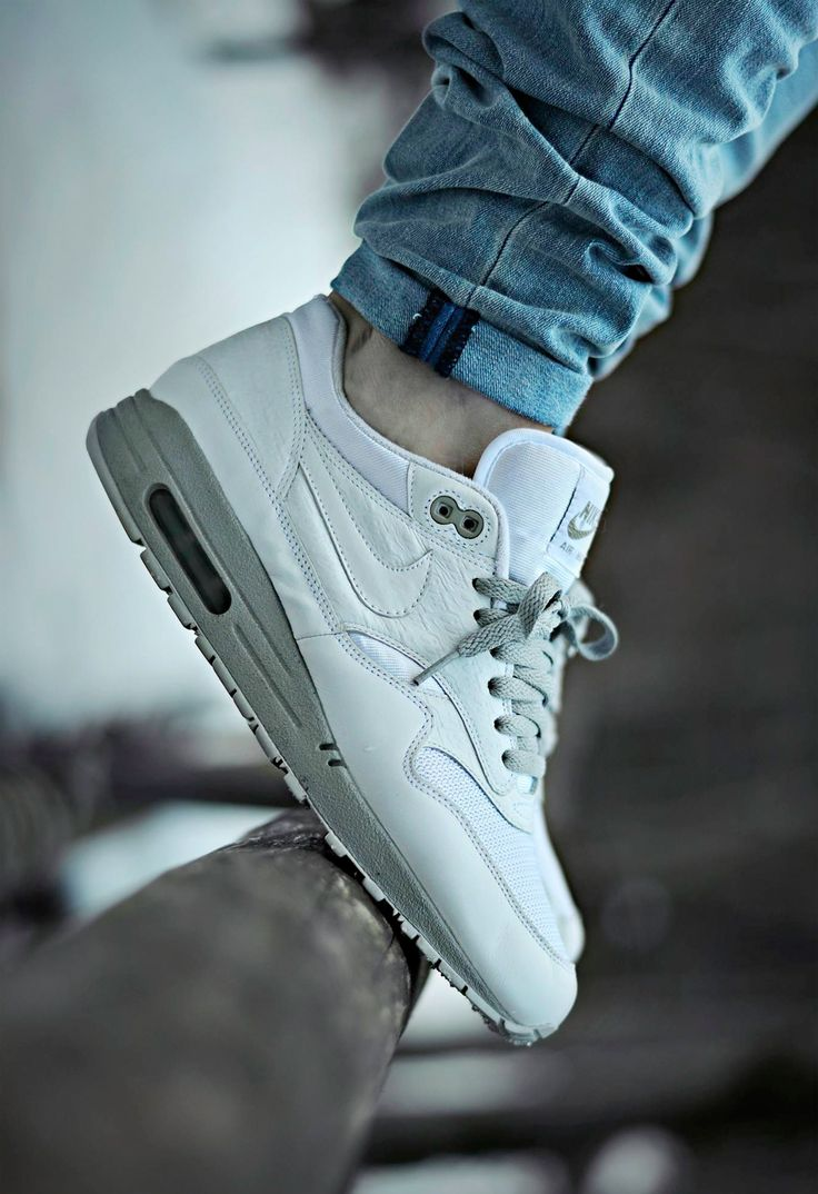 sweetsoles: Nike Air Max 1 Powerwall White (by Joel Ulrich)