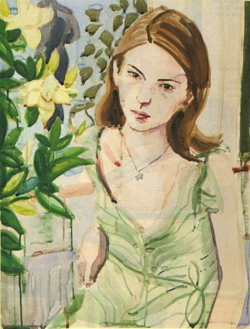 wallflowermanifesto:  Sofia Coppola by Elizabeth Peyton