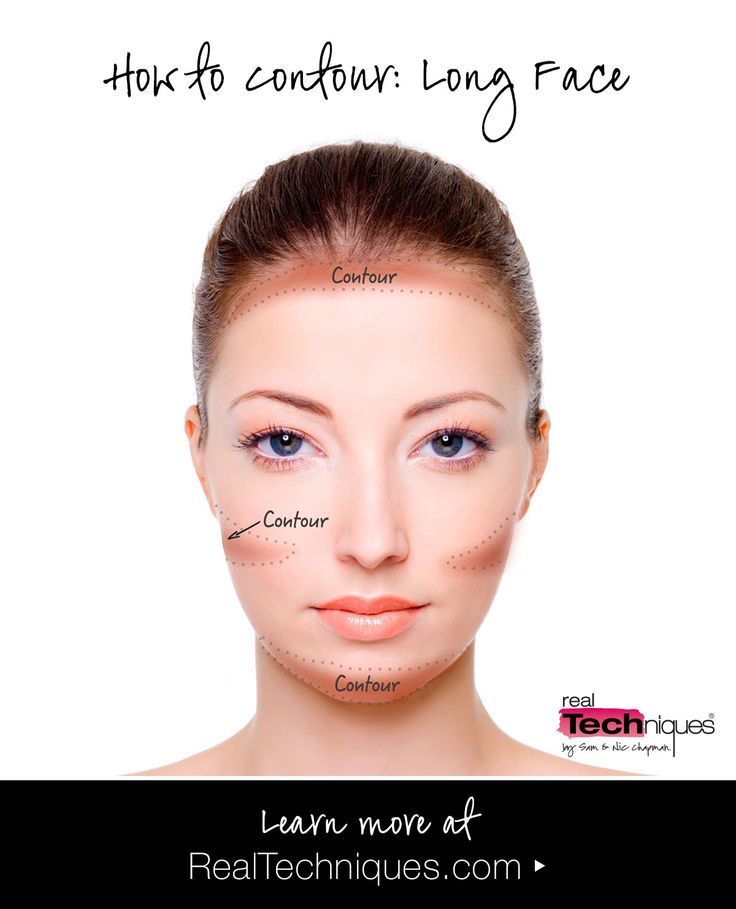 The right way to contour for your face shape oblong face shape long shaped face check out our contouring guide for our tips tricks to ccuart Gallery