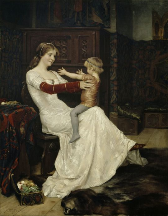 Albert Edelfelt (1854-1905), La Reine Bianca - 1877Musing of a witchy writer