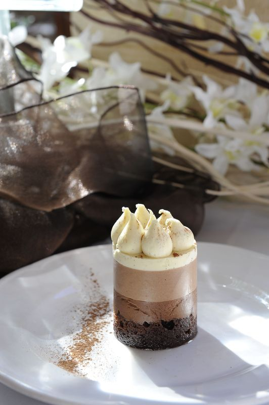Triple Flavoured Chocolate Mousse Dessert | Eschol Park House