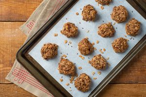 Breakfast Cookies! Only 5 ingredients and packed with fiber and protein