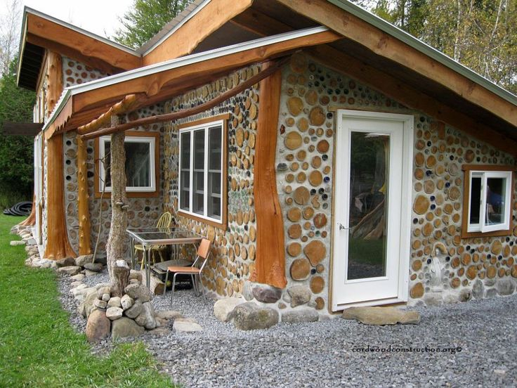 Best 25 cordwood homes ideas on pinterest masonry for Cordwood building plans