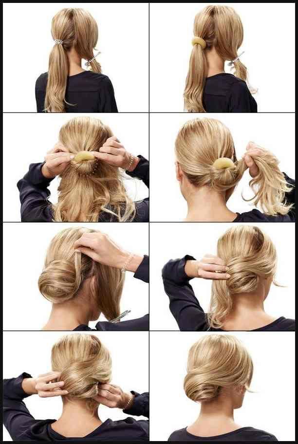 Festliche Frisuren: Festfrisuren selber machen | Pinterest … | Einfache Frisur… – Tracey Hadaway