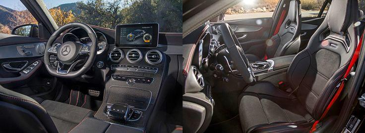 Особые детали С 43 — «подрезанный» руль с лепестками, кожа с красной прострочкой, красные же ремни безопасности. Базовые сиденья по сравнению с обычной «цешкой» более хваткие. А на фото — опционные спортивные AMG-кресла аж за 183 тысячи рублей. Дорого, но мы их очень рекомендуем.