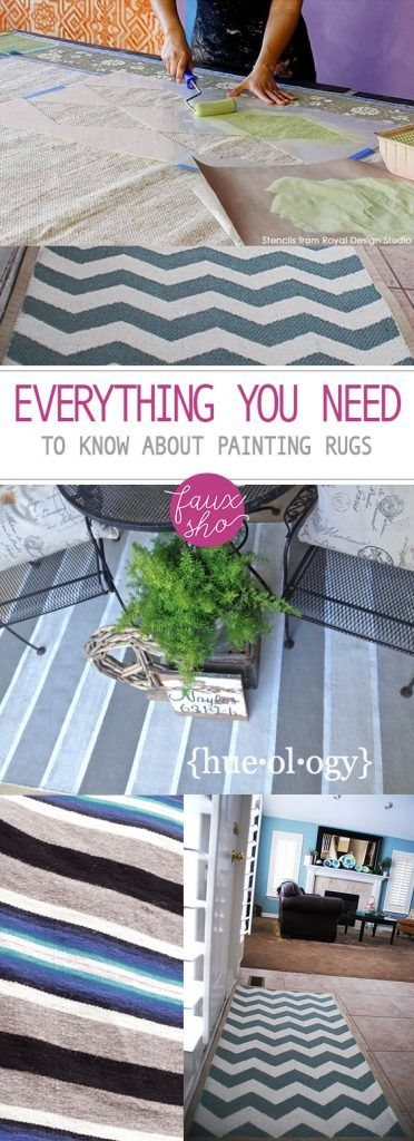 Everything You Need to Know About Painting Rugs