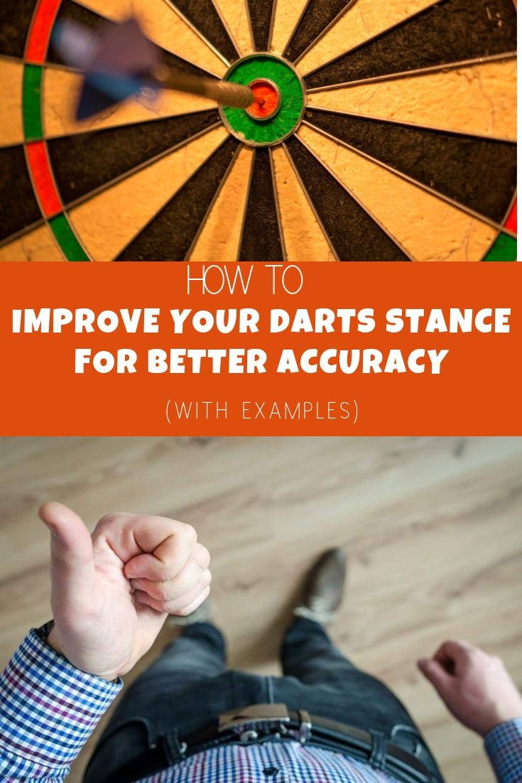 A perfect dart stance is is something you should work to