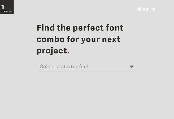 For Designers: Useful Tools To Help You Find Effective Font Combinations - DesignTAXI.com