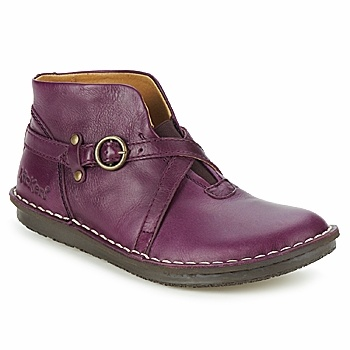 'Waxlow' by Kickers in violet.