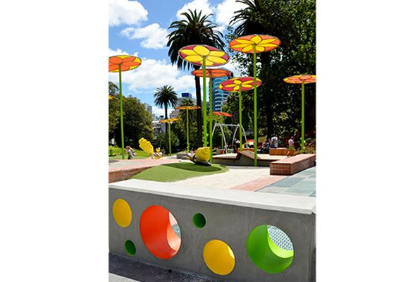 Myers Park Playspace, Auckland City