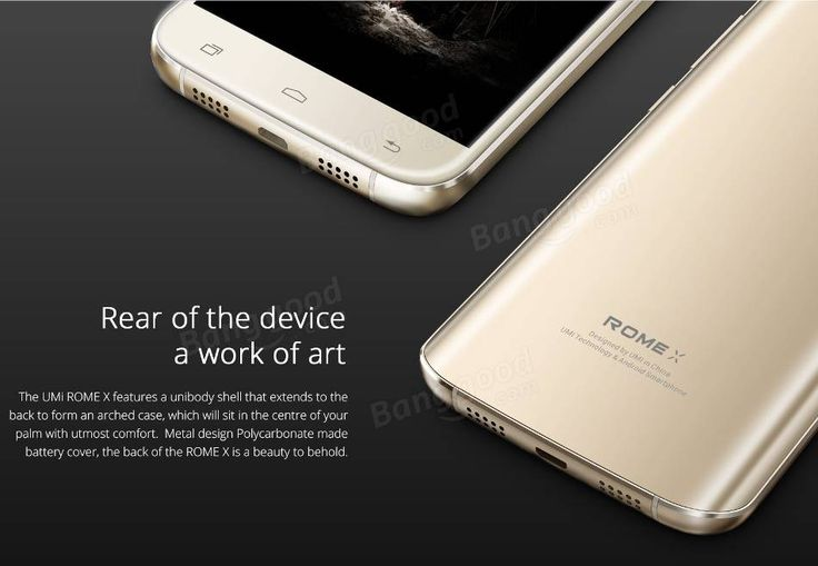 UMI ROME X 5.5-inch 2.5D Screen MTK6580 1.3GHz Quad Core Smartphone Sale - Banggood.com