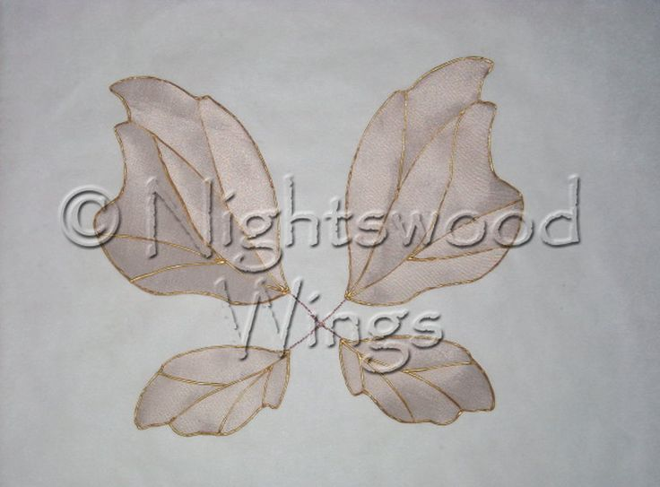 how to make wire fairy wings