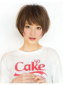 ショートカット×たまご型顔さんに♡不器用さんでも安心なアレンジで元気なボーイッシュなヘアスタイル☆素敵な髪型!