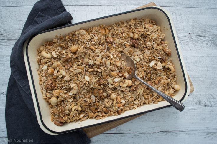 Beautiful big batch of toasted muesli