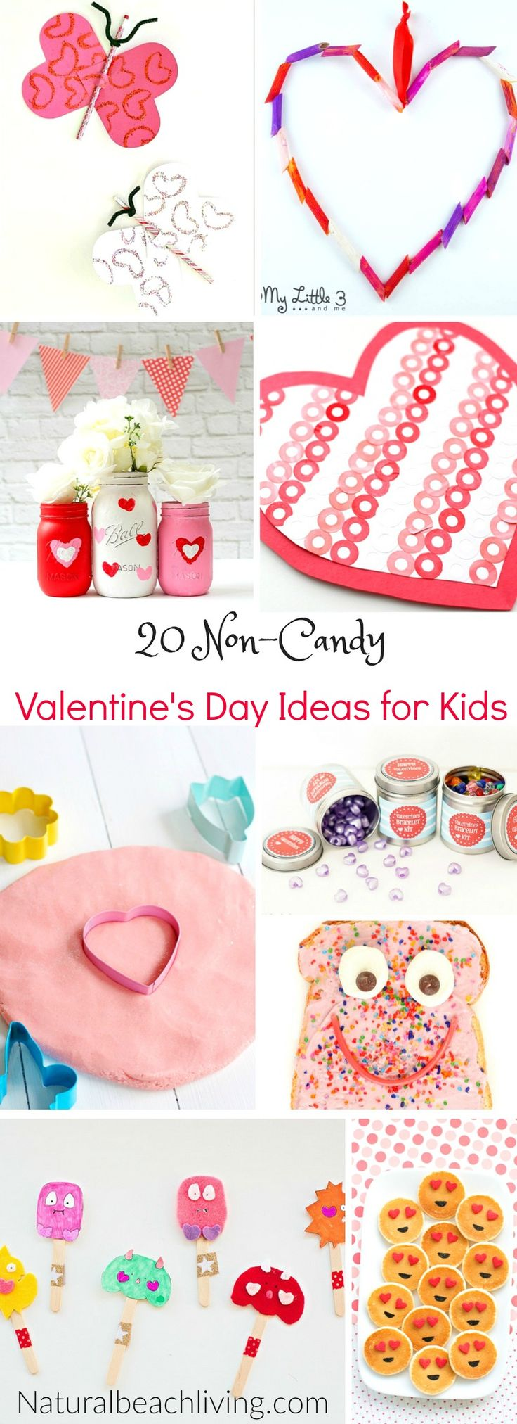 20 Perfect Non Candy Valentine Ideas for Kids, Valentine's Day party ideas, crafts, Valentine's Day sensory play, Emoji ideas, Valentine's Day Printables
