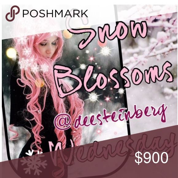 Wednesday 10/12 snow blossoms share group ❄️❄️ ❄️Please share 5 Winter items from each closet. ❄️Choose from jackets, gloves, scarves, sweaters, jeans, boots, etc!  ❄️❄️Choose only one category❄️❄️ ❄️Share times 9am to 12midnight ❄️Sign up closes at noon Pacific (3ET)  ❄️Share before midnight your time ❄️Thanks and let's have fun sharing!                      If you have any questions please tag your hostess @deesteinberg and not the closet @hot_pink_mamas. Your comments might be missed…