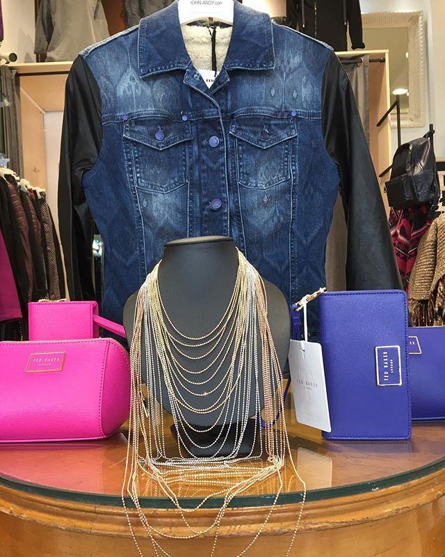 #johnandy #tedbaker #clutchbag #met #woman #jacket #call_for_orders #00302109703888  https://www.john-andy.com/gr/women.html