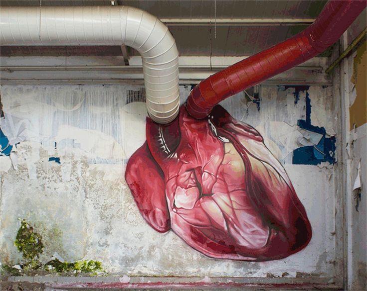 20 Obras de arte urbano q hacen latir tu corazón más rápido