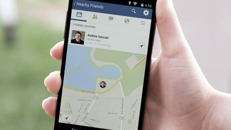 APP ZEIGTE KONTAKTE IN GOOGLE MAPS Facebook startet Freunde-Finder