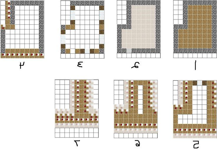 minecraft house ideas blueprints | 1happywallpapers - High ...