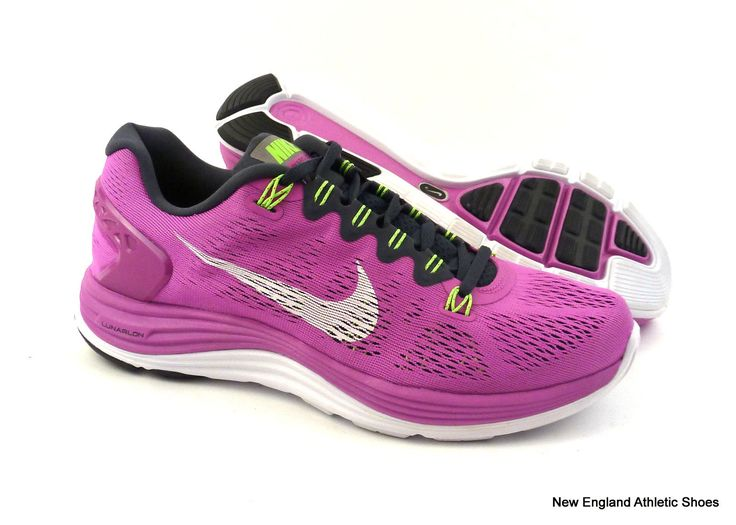 Nike womens Lunarglide 5 running shoes sneakers size 10 Club Pink / White