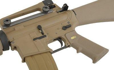 A.W.S.S. WE-M16A3 GBB TYPE with open bolt system - TAN [WE]