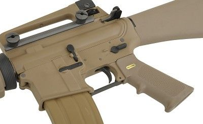 A.W.S.S. WE-M16A3 GBB TYPE with open bolt system - TAN [WE]