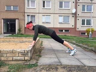keep fit with BoNo: Lavička nemusí sloužit jen k odpočinku II. část