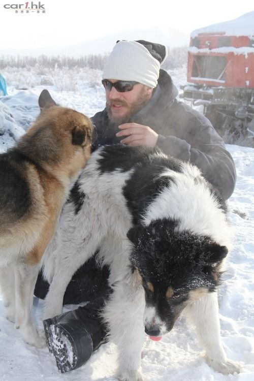 "Driven to extremes"" el documental del viaje de Tom por Siberia."