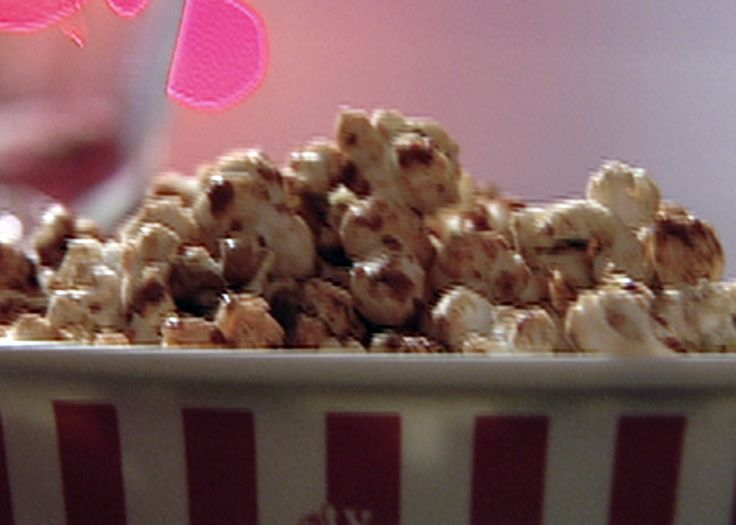 Party Popcorn Recipe : Nigella Lawson :  Use smoked paprika instead of the regular one,  a pinch of chilipowder and i don't use the melted butter