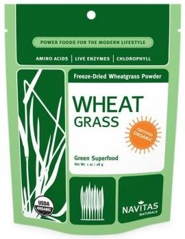 Navitas Naturals Wheat Grass Green Super Food 1 oz