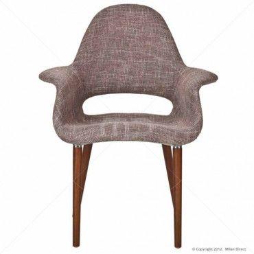 Organic Chair Eames Saarinen Replica - Light Brown - Buy Replica Eames Organic Chair - Milan Direct