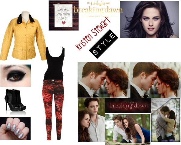 """""""Kristen Stewart Style"""" by shindy-snazzy ❤ liked on Polyvore"""