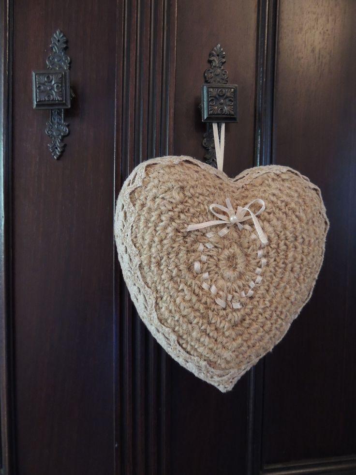 crochet heart ♥