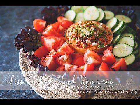 22 best lissas raw food romance images on pinterest raw food recipe red pepper cashew garlic dip veg youtube garlic dipraw vegan forumfinder Choice Image