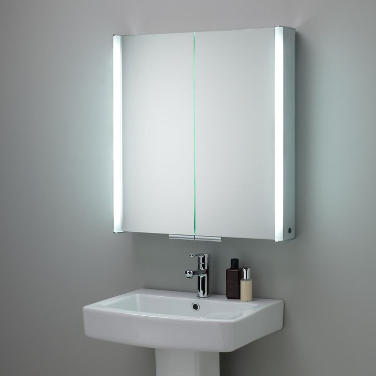 Elegant Small Cabinet With Mirror For Bathroom