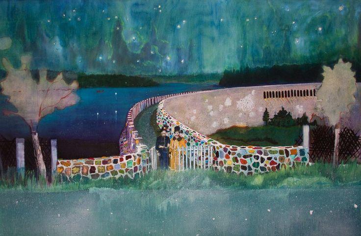 Scottish painter Peter Doig (born 1959).