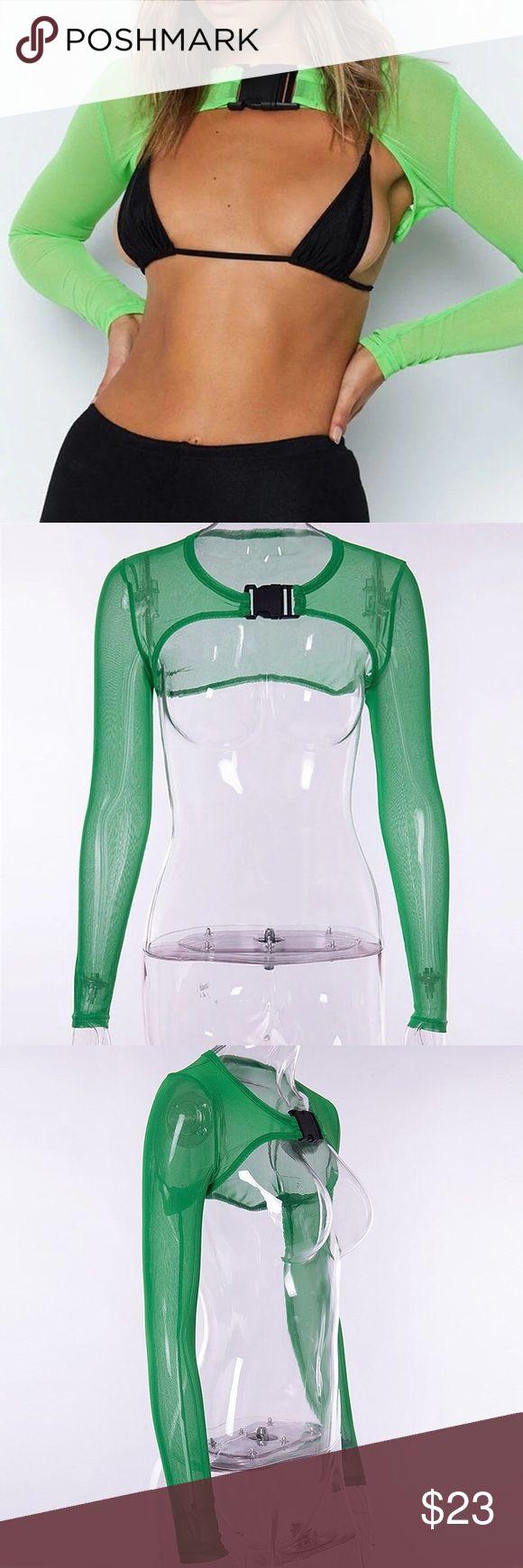 🌟 New 💥 Green Long Sleeve Snap Shirt 🌟 New 💥 Green Long Sleeve Snap …