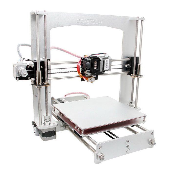 Geeetech Prusa I3 A Pro 3D Printer DIY Kit- White (AU Plug) - Free Shipping - DealExtreme