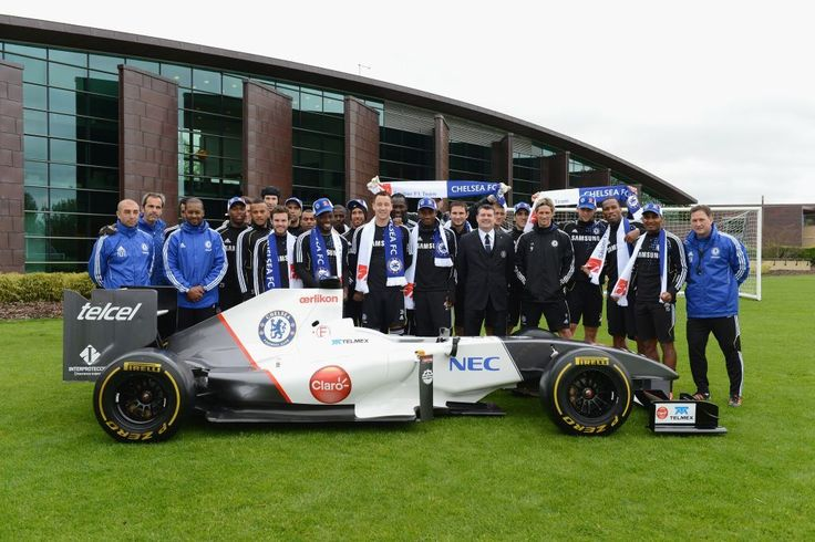 April 30th, 2012 – We were right! Auto Race Sponsor first wrote on April 17th that Chelsea FC was the mysterious sponsor behind the Out of the Blue and True Blue logo on the Sauber F1 Team cars.    And we were right!    Photo: © Sauber Motorsport AG