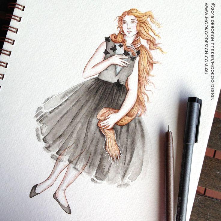Week 2: Italy - Venus meets Valentino by Mookoo Design