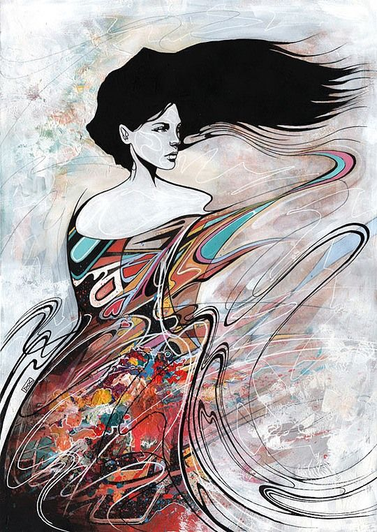 Stunning Illustrations by Danny O'Connor