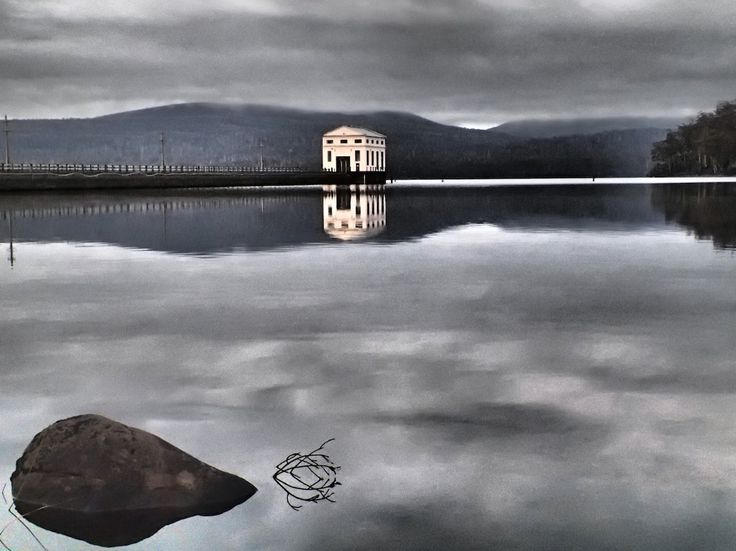 Stay overnight in a re-purposed pump station on Lake St Clair - Tasmania