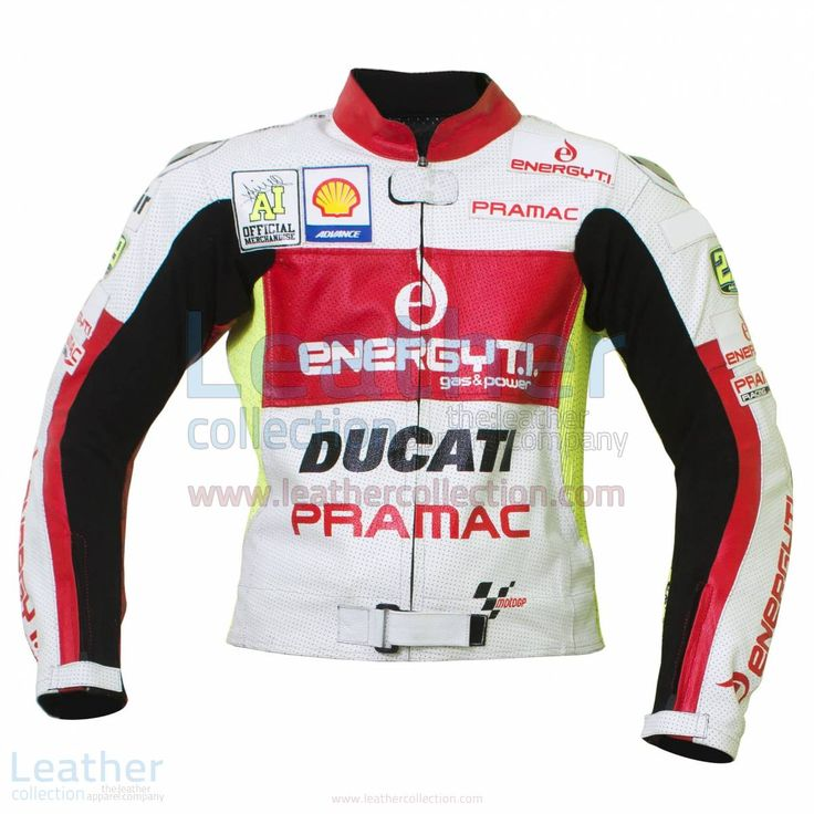 This Motorcycle jacket is designed from the Andrea Iannone Race suit when he took part in the MotoGP Championship with team Ducati  BUY NOW Special Price  =  $337.50 U$ Regular Price =  $450.00 U$ (Offer Valid till 31 December)
