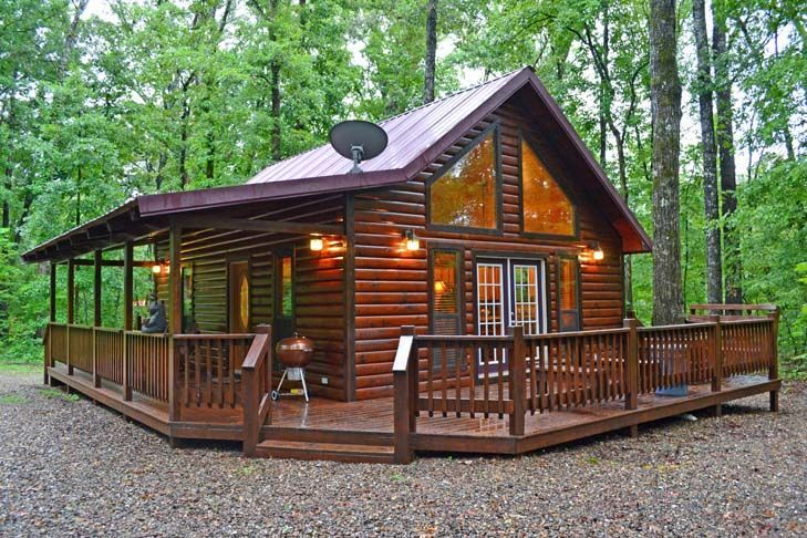 1 bedroom cabin sleeps 4 located in Broken Bow, with Air