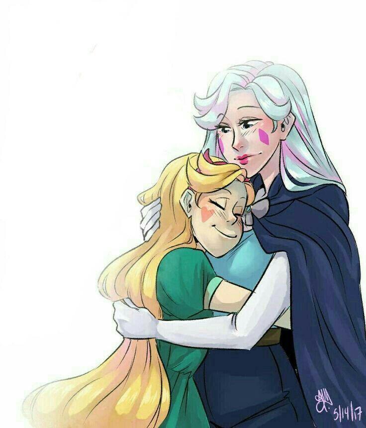 Me recuerda a mi mamá y a mí