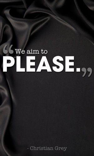 We Aim to Please ...