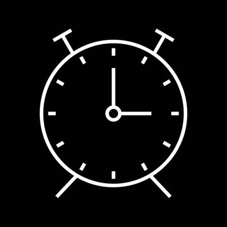 Beautiful Alarm Clock Vector Line Icon Stock Vector Ad Clock Vector Beautiful Alarm Ad In 2020 Iphone Icon Ios App Icon App Icon